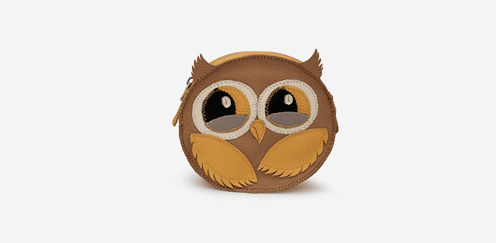 Cosmetic Owl Bag